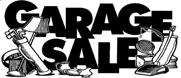 Garage Sale – June 6th
