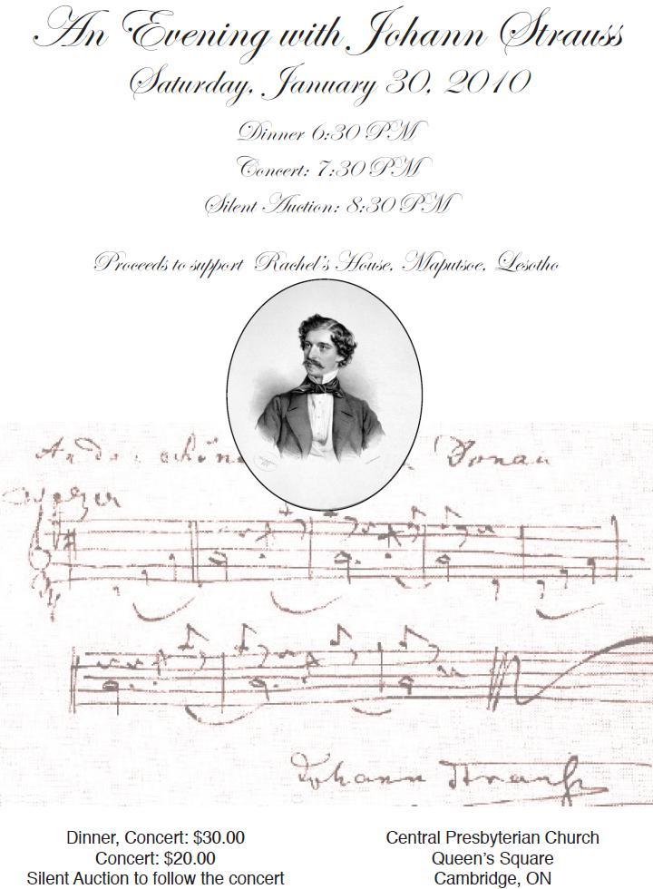 Strauss-Poster